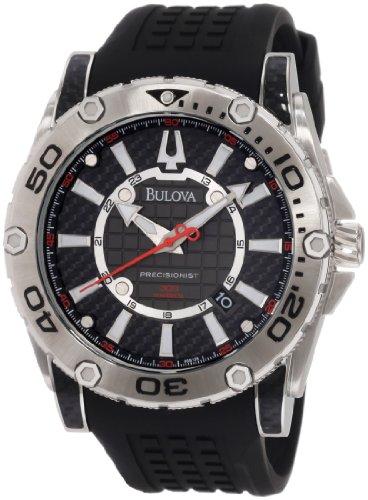 ブローバ 腕時計 メンズ 96B155 Bulova Men's 96B155 Precisionist Champlain Rotating bezel Watchブローバ 腕時計 メンズ 96B155