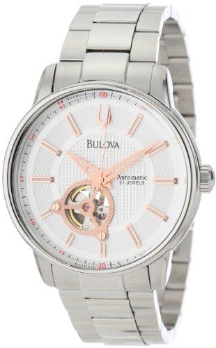 ブローバ 腕時計 メンズ 96A143 【送料無料】Bulova Men's 96A143 Bulova Series 160 Mechanical Watchブローバ 腕時計 メンズ 96A143