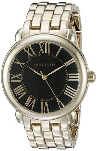 アンクライン 腕時計 レディース AK/1926BKGB Anne Klein Women's AK/1926BKGB Gold-Tone Bracelet Watchアンクライン 腕時計 レディース AK/1926BKGB
