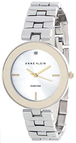アンクライン 腕時計 レディース AK/2077SVTT Anne Klein Womens Silver Dial Metal Bracelet Watch AK/2077SVTTアンクライン 腕時計 レディース AK/2077SVTT