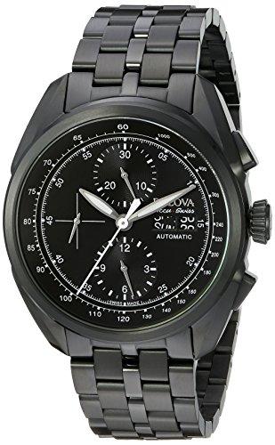 ブローバ 腕時計 メンズ 65C116 Bulova Accu Swiss Men's 65C116 Analog Display Mechanical Hand Wind Black Watchブローバ 腕時計 メンズ 65C116