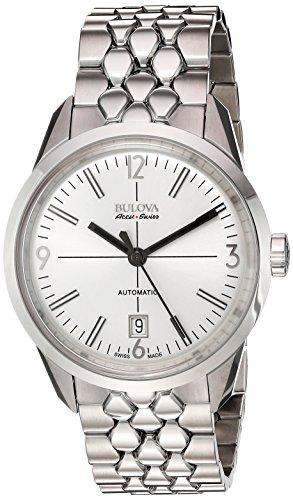 ブローバ 腕時計 メンズ 63B177 Bulova Men's 63B177 Analog Display Automatic Self Wind Silver Watchブローバ 腕時計 メンズ 63B177