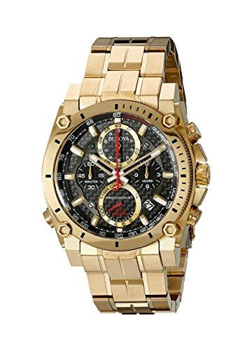 腕時計 ブローバ メンズ 97B138 【送料無料】Bulova Men's 97B138 Analog Display Quartz Gold Watch腕時計 ブローバ メンズ 97B138