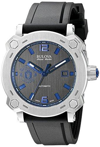 ブローバ 腕時計 メンズ 63B189 【送料無料】Bulova Men's 63B189 Percheron Analog Display Swiss Automatic Black Watchブローバ 腕時計 メンズ 63B189
