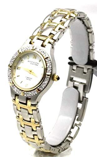 アンクライン 腕時計 レディース 【送料無料】Anne Klein Swiss Two Tone Diamond Bezel Woman's Watchアンクライン 腕時計 レディース