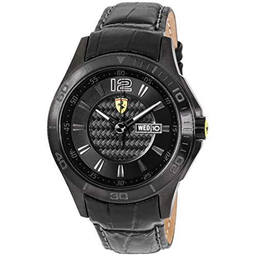 フェラーリ 腕時計 メンズ 0830093 Ferrari Men's 0830093 Scuderia Analog Display Quartz Black Watchフェラーリ 腕時計 メンズ 0830093