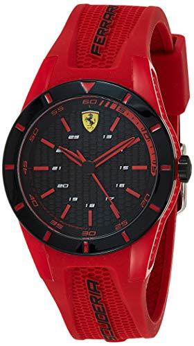 フェラーリ 腕時計 メンズ 840005 【送料無料】Ferrari Men's RedRev Stainless Steel Quartz Watch with Rubber Strap, red, 20 (Model: 0840005)フェラーリ 腕時計 メンズ 840005