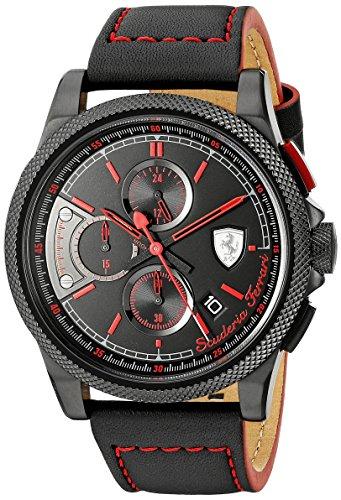 フェラーリ 腕時計 メンズ 0830273 Ferrari Men's 0830273 FORMULA ITALIA S Analog Display Japanese Quartz Black Watchフェラーリ 腕時計 メンズ 0830273