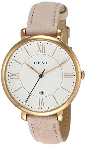 フォッシル 腕時計 レディース ES3988 Fossil Women's ES3988 Jacqueline Blush Leather Strap Watchフォッシル 腕時計 レディース ES3988