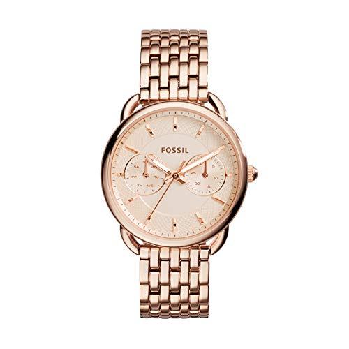 フォッシル 腕時計 レディース ES3713 Fossil Women's Tailor Quartz Stainless Steel Dress Watch, Color: Rose Gold-Tone (Model: ES3713)フォッシル 腕時計 レディース ES3713