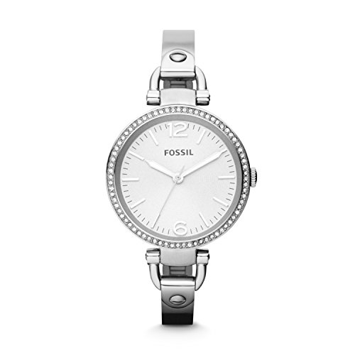 フォッシル 腕時計 レディース ES3225 【送料無料】Fossil Women's ES3225 Georgia Glitz Silver-Tone Stainless Steel Watch with Stainless Steel Braceletフォッシル 腕時計 レディース ES3225
