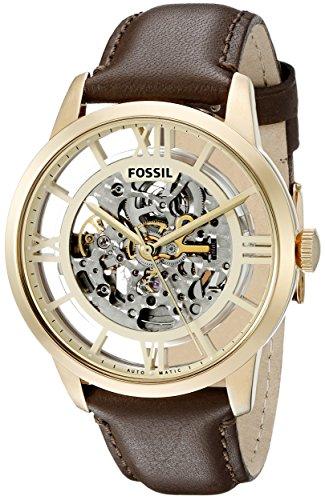 フォッシル 腕時計 メンズ ME3043 Fossil Men's ME3043 Townsman Analog Display Japanese Automatic Brown Watchフォッシル 腕時計 メンズ ME3043
