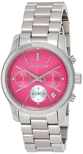 マイケルコース 腕時計 レディース 母の日特集 マイケル・コース MK6160 【送料無料】Michael Kors Women's Runway Watch, Silver/Pink, One Sizeマイケルコース 腕時計 レディース 母の日特集 マイケル・コース MK6160