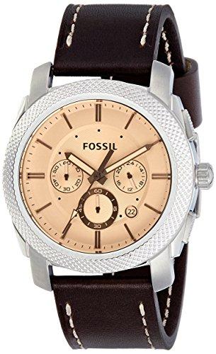 フォッシル 腕時計 メンズ FS5170 【送料無料】Fossil Men's FS5170 Machine Chronograph Dark Brown Leather Watchフォッシル 腕時計 メンズ FS5170