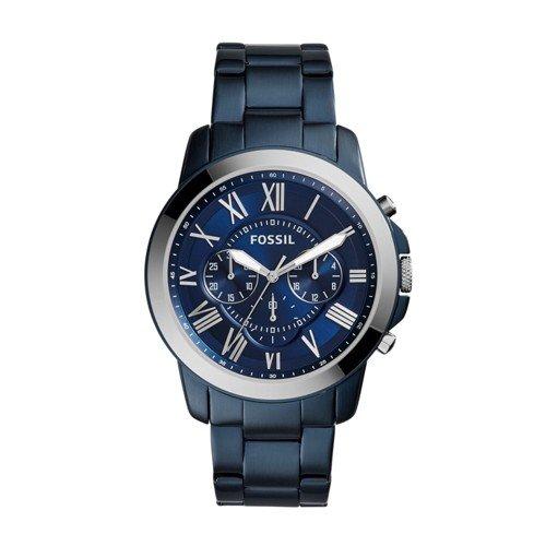 フォッシル 腕時計 メンズ FS5230 Grant Chronograph Blue-Tone Stainless Steel Watchフォッシル 腕時計 メンズ FS5230