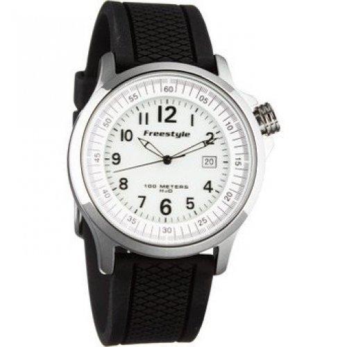 フリースタイル 腕時計 レディース アウトドアウォッチ特集 FS91301 Freestyle USA Ranger Watch SS/Black Silicone, One Sizeフリースタイル 腕時計 レディース アウトドアウォッチ特集 FS91301
