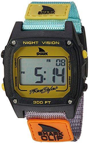 フリースタイル 腕時計 レディース 夏の腕時計特集 10026749 【送料無料】Freestyle Unisex 10026749 Shark Clip Digital Display Japanese Quartz Multicolor Watchフリースタイル 腕時計 レディース 夏の腕時計特集 10026749