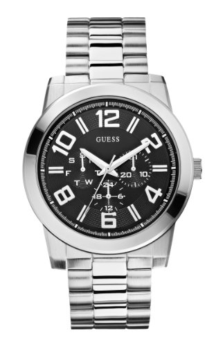 ゲス GUESS 腕時計 メンズ U0264G1 GUESS Men's U0264G1 Self Assured Stainless Steel Multi-Function Watchゲス GUESS 腕時計 メンズ U0264G1