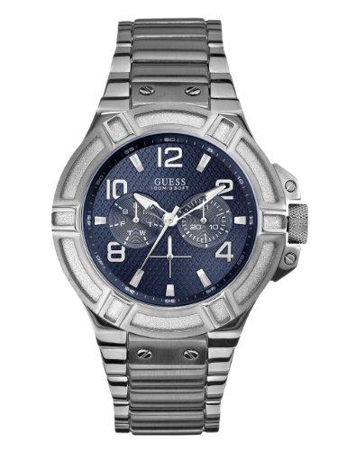 ゲス GUESS 腕時計 メンズ U0218G2 【送料無料】GUESS Men's U0218G2 Rigor Standout Sporty Multi-Function Watch with Blue Dialゲス GUESS 腕時計 メンズ U0218G2