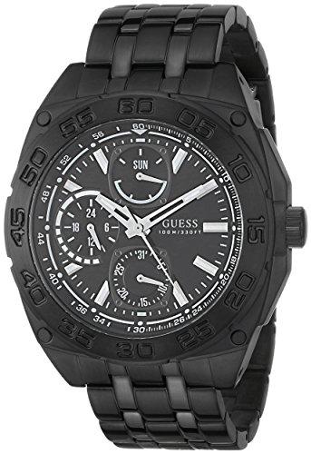 ゲス GUESS 腕時計 メンズ U0487G2 【送料無料】GUESS Men's U0487G2 Black Ionic Plated Multi-Function Watchゲス GUESS 腕時計 メンズ U0487G2