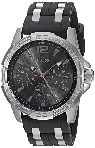 ゲス GUESS 腕時計 メンズ U0032G7 GUESS Men's U0032G7 Sporty Silver-Tone Stainless Steel Watch with Multi-function Dial and Strap Buckleゲス GUESS 腕時計 メンズ U0032G7