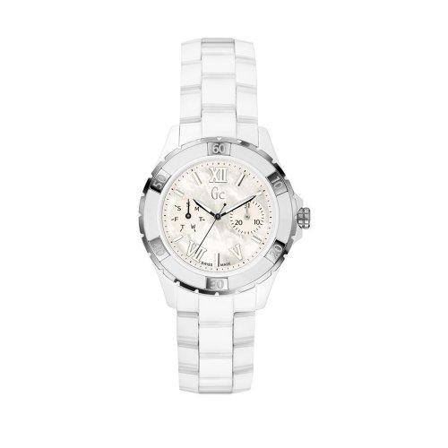 ゲス GUESS 腕時計 レディース Sport Class Xl-S Glam 【送料無料】Guess GUESS Gc Sport Class XL-S Glam Ceramic Automatic Women's Watch X69001L1Sゲス GUESS 腕時計 レディース Sport Class Xl-S Glam