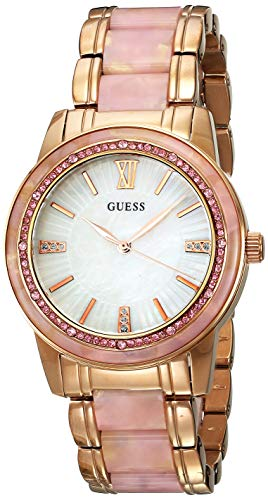 ゲス GUESS 腕時計 メンズ U0165G2 【送料無料】Guess Chronograph Silver Dial Plated Stainless Steel Bracelet Men watch Japanese Quartz (U0165G2)ゲス GUESS 腕時計 メンズ U0165G2