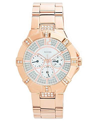 ゲス GUESS 腕時計 レディース 13249800 【送料無料】GUESS Factory Women's Rose Gold-Tone Multifunction Watchゲス GUESS 腕時計 レディース 13249800