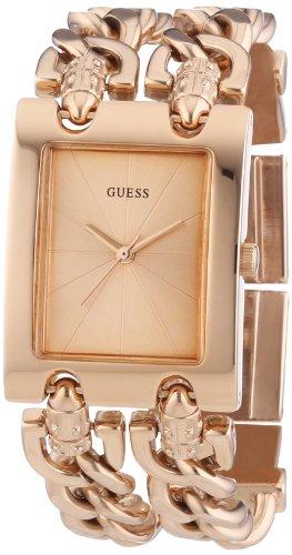 ゲス GUESS 腕時計 レディース W0073L2 【送料無料】GUESS W0073L2 Women's Trendy Rose Gold-Tone Double-Chain Bracelet Watchゲス GUESS 腕時計 レディース W0073L2