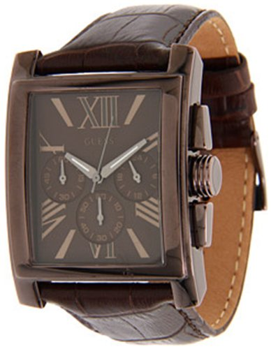 ゲス GUESS 腕時計 レディース #N/A 【送料無料】Guess Men's U0010G3 Brown Crocodile Leather Quartz Watch with Brown Dialゲス GUESS 腕時計 レディース #N/A