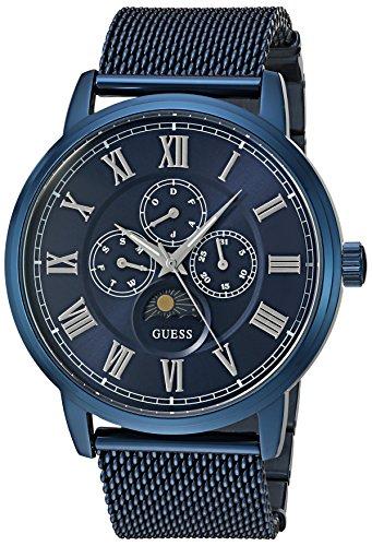 ゲス GUESS 腕時計 メンズ U0871G3 Guess Men's Stainless Steel Mesh Bracelet Watch, Color Blue (Model: U0871G3)ゲス GUESS 腕時計 メンズ U0871G3