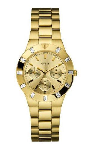 ゲス GUESS 腕時計 レディース W13576L1 Guess W13576L1 Ladies GLISTEN Gold Tone Watchゲス GUESS 腕時計 レディース W13576L1