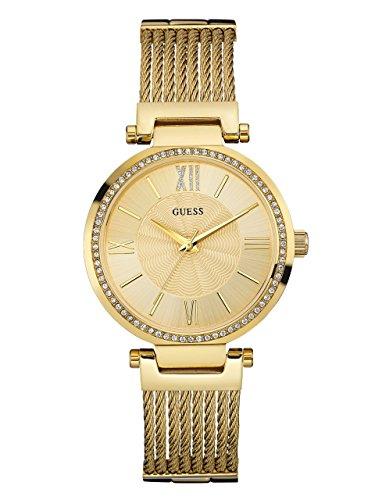 ゲス GUESS 腕時計 レディース W0638L2 Guess Soho Quartz Movement Gold Dial Ladies Watch W0638L2ゲス GUESS 腕時計 レディース W0638L2