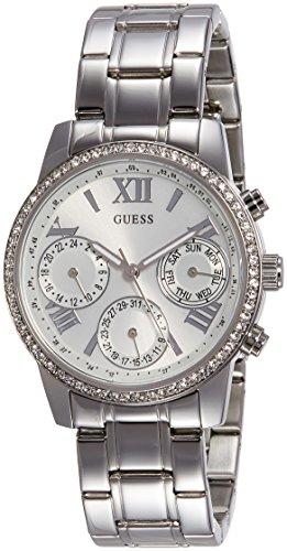 ゲス GUESS 腕時計 レディース W0623L1 【送料無料】Guess Women's MINI SUNRISE Steel Bracelet & Case Quartz Silver-Tone Dial Analog Watch W0623L1ゲス GUESS 腕時計 レディース W0623L1