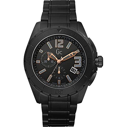 ゲス GUESS 腕時計 メンズ X76009G2S 【送料無料】X76009G2S Guess GC Swiss Sports Class Double Extra Large Black Ceramic Mens Watchゲス GUESS 腕時計 メンズ X76009G2S