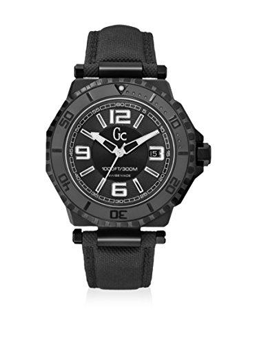 ゲス GUESS 腕時計 メンズ X79011G2S 【送料無料】Guess GC-3 Collection Black Dial White Accent Unisex Watch X79011G2Sゲス GUESS 腕時計 メンズ X79011G2S