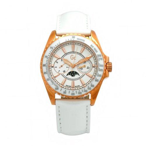 ゲス GUESS 腕時計 レディース 41006M1 【送料無料】GUESS Women's 41006M1 GC White Leather White Dial Watchゲス GUESS 腕時計 レディース 41006M1