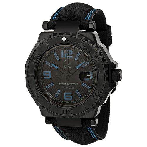 無料ラッピングでプレゼントや贈り物にも 逆輸入並行輸入送料込 腕時計 ゲス GUESS メンズ X79012G2S 送料無料 Guess GC-3 訳あり品送料無料 Blue Black Collection Dial Unisex X79012G2S腕時計 通販 Watch Accent