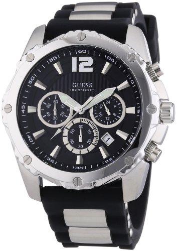 ゲス GUESS 腕時計 メンズ INTREPID Guess Mens Watch Black Tone Chronograph Sports Collection W0167G1ゲス GUESS 腕時計 メンズ INTREPID