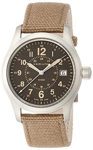 ハミルトン 腕時計 レディース H68201993 【送料無料】Hamilton Men's Analogue Quartz Watch with Textile Strap H68201993ハミルトン 腕時計 レディース H68201993