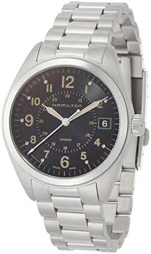ハミルトン 腕時計 メンズ H68551133 【送料無料】Hamilton Men's Khaki Field Swiss-Quartz Watch with Stainless-Steel Strap, Silver, 20 (Model: H68551133)ハミルトン 腕時計 メンズ H68551133