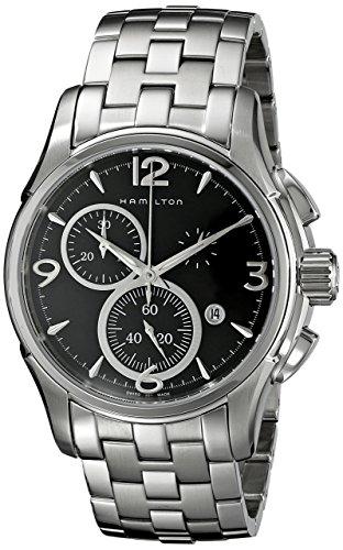 ハミルトン 腕時計 メンズ H32715131 【送料無料】Hamilton Men's H32612135 Jazzmaster Black Dial Watchハミルトン 腕時計 メンズ H32715131