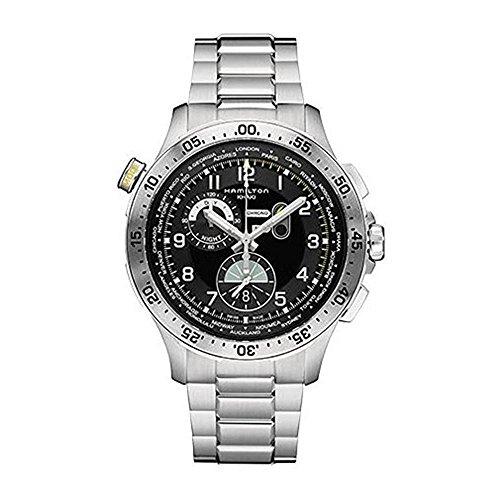 腕時計 ハミルトン メンズ H76714135 【送料無料】Hamilton Men's Swiss Quartz Stainless Steel Casual Watch, Color:Silver-Toned (Model: H76714135)腕時計 ハミルトン メンズ H76714135