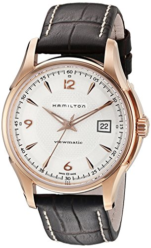 ハミルトン 腕時計 メンズ H32645555 【送料無料】Hamilton Men's H32645555 Jazzmaster Pink-tone Case Watchハミルトン 腕時計 メンズ H32645555