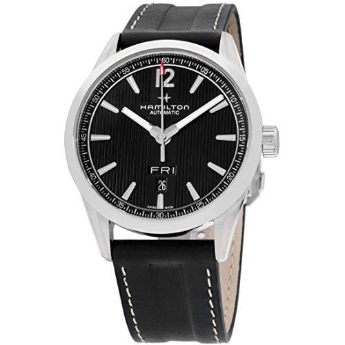ハミルトン 腕時計 メンズ H43515735 【送料無料】Hamilton Broadway Automatic Movement Grey Dial Men's Watch H43515735ハミルトン 腕時計 メンズ H43515735