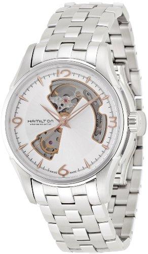 ハミルトン 腕時計 メンズ H32565155 【送料無料】Hamilton Jazzmaster Silver Dial Stainless Steel Men's Watch H32565155ハミルトン 腕時計 メンズ H32565155