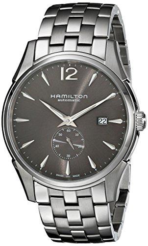 ハミルトン 腕時計 メンズ H38655185 【送料無料】Hamilton Men's H38655185 Jazzmaster Charcoal Black Dial Watchハミルトン 腕時計 メンズ H38655185