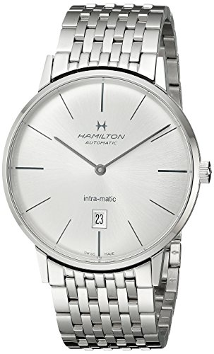 腕時計 ハミルトン メンズ H38755151 【送料無料】Hamilton Men's H38755151 Timeless Class Analog Display Automatic Self Wind Silver Watch腕時計 ハミルトン メンズ H38755151