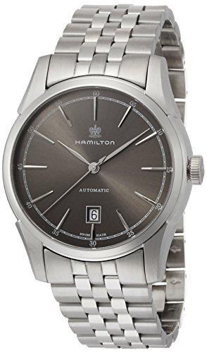 ハミルトン 腕時計 メンズ H42415091 Hamilton Spirit Of Liberty Grey Dial Stainless Steel Mens Watch H42415091ハミルトン 腕時計 メンズ H42415091