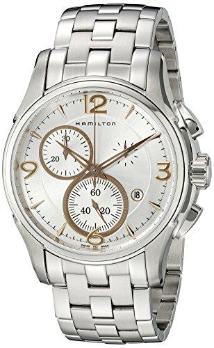 """ハミルトン 腕時計 メンズ H32612155 【送料無料】Hamilton Men""""s H32612155 Jazzmaster Silver Dial Watchハミルトン 腕時計 メンズ H32612155"""